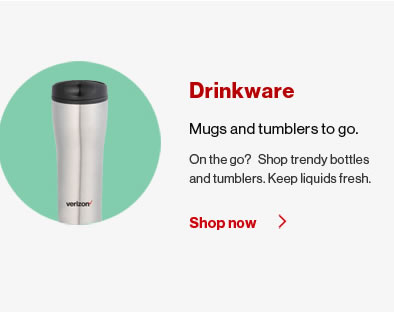 Verizon Drinkware Cups, Bottles and Mugs